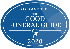 Recommended by the Good Funeral Guide - 2020